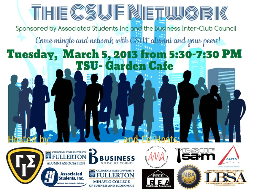 The CSUF Network Flyer