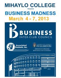 BusinessMadness2013 - Cover